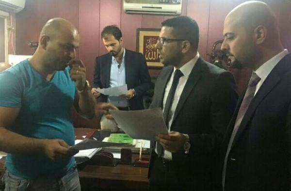 خلال زياراته التفقدية لدوائر الوزارة
