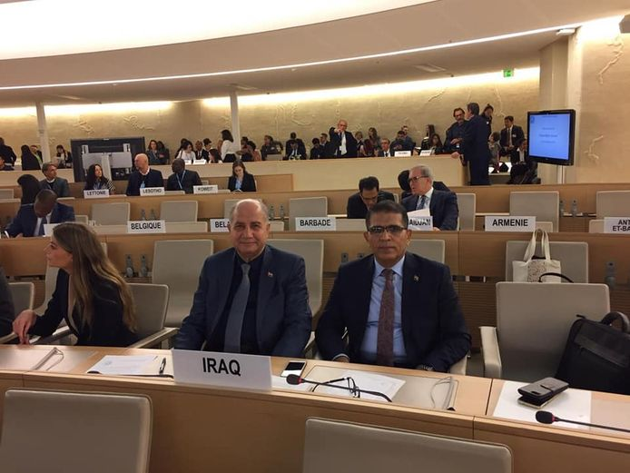 Minister of Justice heads the delegation of the Republic of Iraq participating in the meetings of the Human Rights Council (42) 514903_09