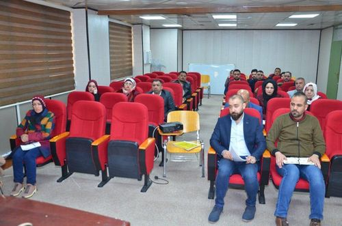 The Judicial Planning Department organizes a training course in the field of developing legal cadres / administrative investigation and its guarantees 527500_k
