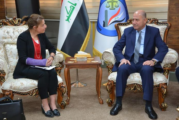 Justice Minister: UNAMI is an important partner in strengthening Iraqi human rights capacities 818917_908